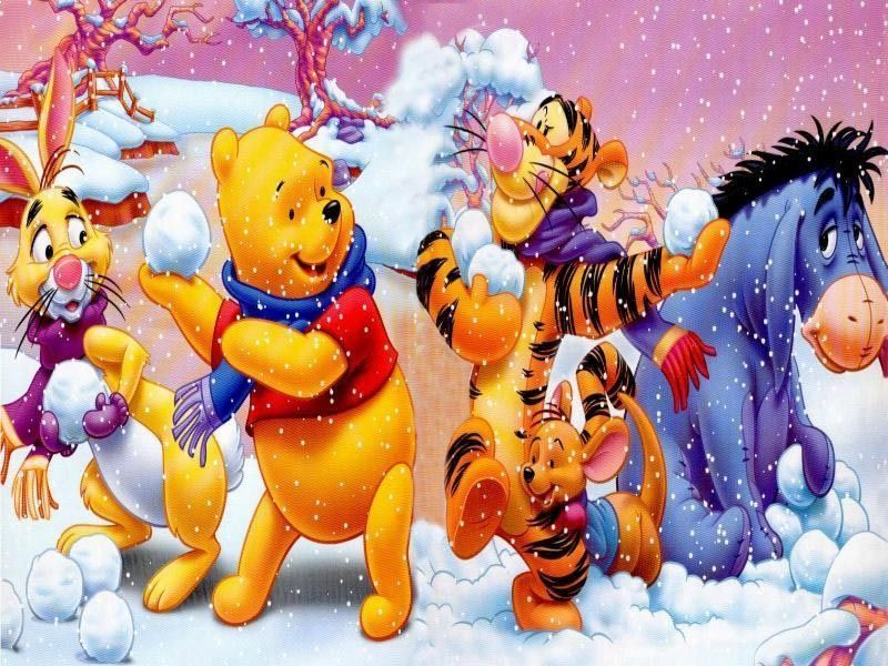 Winnie the pooh page 9 - Winnie l ourson noel ...